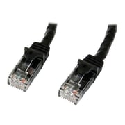 StarTech   N6PATCH10BK Cat6 Patch Cable with Snagless RJ45 Connectors, 10ft, Black