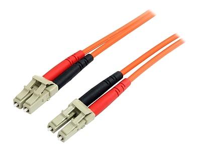 StarTech FIBLCLC3 3m Multimode 62.5/125 Duplex Fiber Patch Cable LC to LC