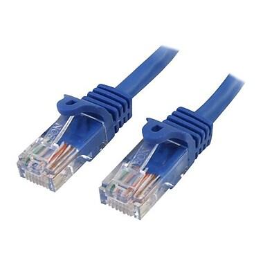 StarTech RJ45PATCH7 7ft Cat5e Blue Snagless RJ45 UTP Patch Cable