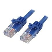 StarTech   RJ45PATCH50 50ft Cat5e Blue Snagless RJ45 UTP Patch Cable