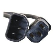 C2G ® 4' IEC320C14/IEC320C13 Male/Female Computer Power Extension Cord, Black (29917)