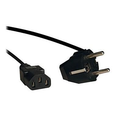 Tripp Lite 6' Black 2-Prong European Computer Power Cord (P054-006)