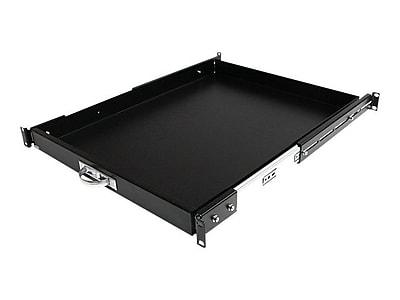 StarTech Deep Sliding Server Cabinet Shelf, Black (SLIDESHELFD)