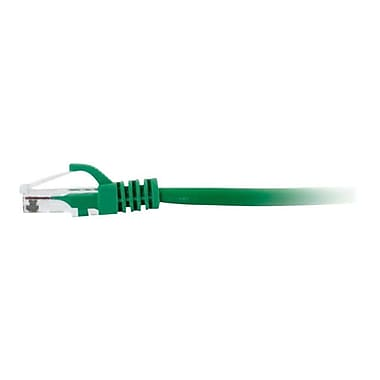 C2G 15201 10' RJ-45 Male-to-Male Cat5e Snagless Patch Cable, Green
