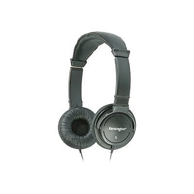 Kensington K33137 Wired Binaural Black Hi-Fi Headphone