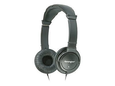 Kensington K33137 Wired Binaural Black Hi-Fi Headphone