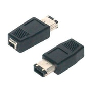 StarTech  FIRE46FM IEEE-1394 FireWire Adapter 4-Pin to 6-Pin, F/M (FIRE46FM)