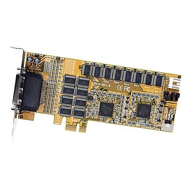 StarTech PEX16S952LP 16-Port Low Profile RS232 PCI Express Serial Card, Cable Included