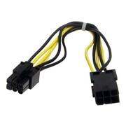 "StarTech PCI Express Power Extension Cable, Black, 8"" (PCIEPOWEXT)"