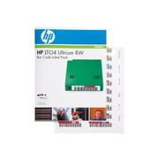 HP® Read/Write Bar Code Label for LTO-4 Ultrium, 110/Pack (Q2009A)