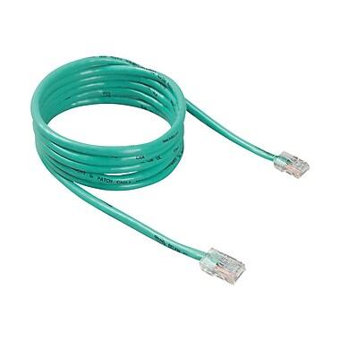 Belkin A3L781-07-GRN 7' RJ-45 Male/Male Cat5e Patch Cable, Green