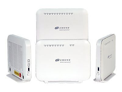Zhone 6718-W1 Wireless Router, 54 Mbps, 7 Ports IM1QU5283