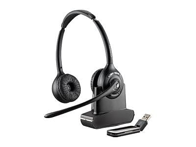 Plantronics Savi W420 Over-the-Head Duo USB Wireless Headset