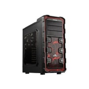 Enermax Ostrog GT ATX Mid Tower Computer Case, Black/Red
