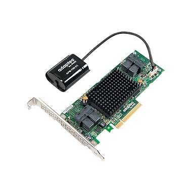 ADAPTEC - RAID 1605ZQ RAID 2281600-R 0/1/10 SAS 1GB X8 PCIE MD2 16PORT SFF 4 8643 INT