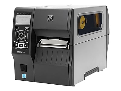 Zebra® ZT410 14 in/s Serial Direct Thermal/Thermal Transfer Printer, 4.49