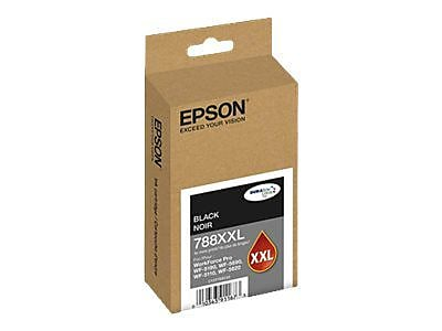 Epson® DURABrite Ultra Ink 788XXL Black 4000 Pages Extra High Yield Ink Cartridge for WorkForce Pro WF-5620 Printer