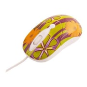 Urban Factory Crazy Mouse USB Wired 800 dpi Optical Mouse, My Garden