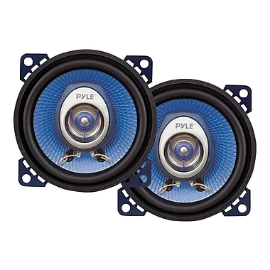 Pyle® PL42BL 180 W Pair Of Two-Way Speakers, Blue