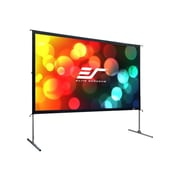 "Elite Screens® Yard Master OMS100H2 Portable Outdoor Self Standing 100"" Projector Screen"