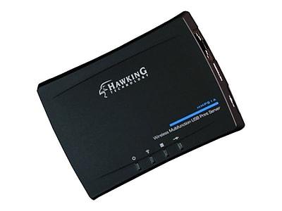 Hawking® HMPS1A Wireless Multifunction USB Print Server