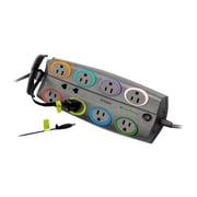 Kensington® SmartSockets® K62691NA 8 Outlets 3090 J Premium Adapter, 8'