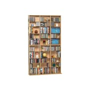 Atlantic® Oskar 1080 Multimedia Storage Cabinet, Maple