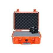 Pelican™ Medium Shipping Case With Foam, Orange