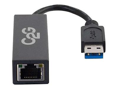 C2G® USB 3.0 To Gigabit Ethernet Network Adapter