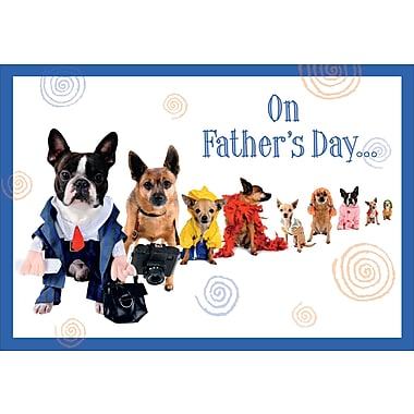 On Father's Day, Dogs, 18/Pack