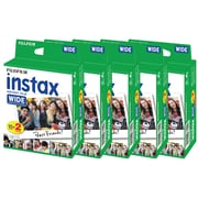Fujifilm Instax Wide Film, 100 Exposures, 10/Pack