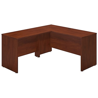 Bush® Business Westfield Elite 60W x 24D Desk Shell with 42W Return, Hansen Cherry