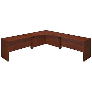 Bush® Business Westfield Elite 42W x 42D Corner Desk Shell with (2) 60W Returns, Hansen Cherry