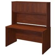 Bush® Business Westfield Elite 60W x 30D Desk Shell with Hutch, Hansen Cherry