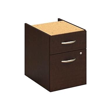 Bush® Business Westfield Elite 72W x 30D C-Leg Desk with Two 3/4 Pedestals, Mocha Cherry