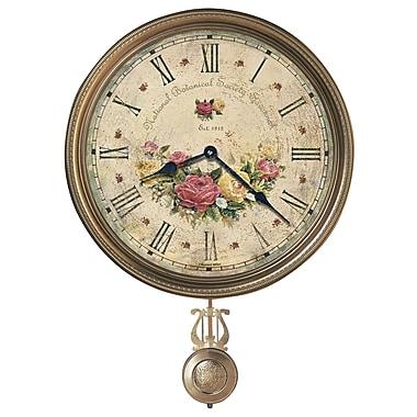 Howard Miller Moment In Time Savannah Botanical VII Quartz 15'' Wall Clock