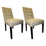 Sole Designs Kacey Side Chairs (Set of 2); Amethyst