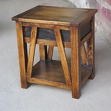 ZallZo Handmade Maksim End Table
