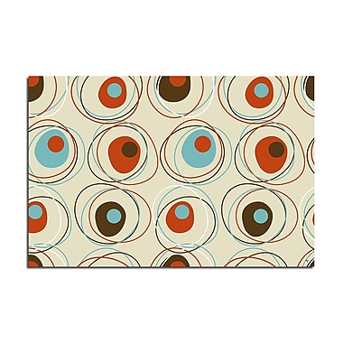 Ready2hangart 'Geometric Study I' by Ready2HangArt Framed Graphic Art on Wrapped Canvas