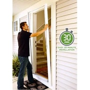 Zabitat Brisa Retractable Screen Door; Sandstone