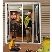 Zabitat Brisa Retractable Screen Door; Sandstone