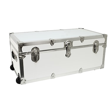 Seward Trunk The Modern 30'' Trunk; White