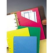Day-Timer® Colorlife® Slash Pockets, Desk Size
