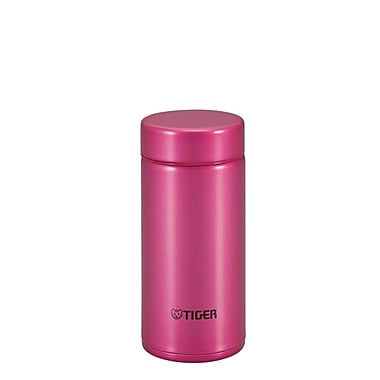 Tiger 0.2L Stainless Steel Thermal Ware (Mmp-G020), Raspberry Pink