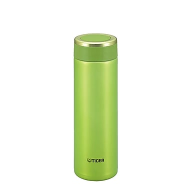 Tiger 0.48L Stainless Steel Thermal Ware, Lime Green