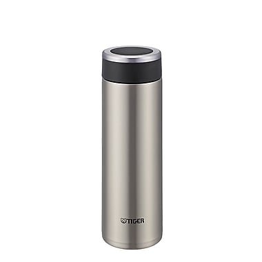 Tiger 0.48L Stainless Steel Thermal Ware, Clear Stainless