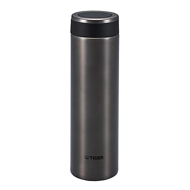 Tiger 0.6L Stainless Steel Thermal Ware, Carbon Black