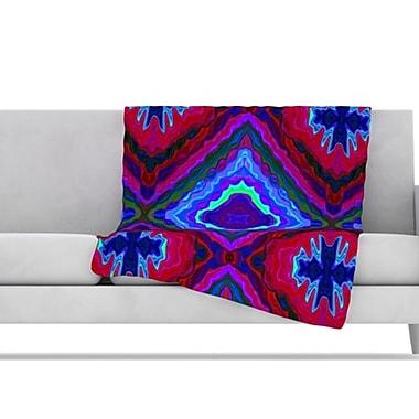 KESS InHouse Kilim Fleece Throw Blanket; 60'' L x 50'' W