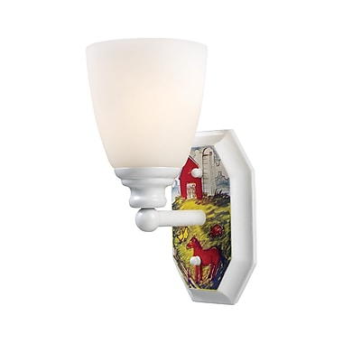 Landmark Lighting Kidshine 1-Light Wall Sconce