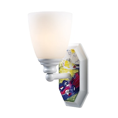 Landmark Lighting Kidshine 1-Light Automobile Wall Sconce